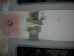 Door hinge rebates 53.
