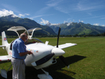 Bob Harrison  G-PTAG at Zell Am See