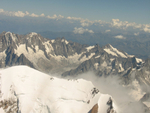 Mount Blanc from above